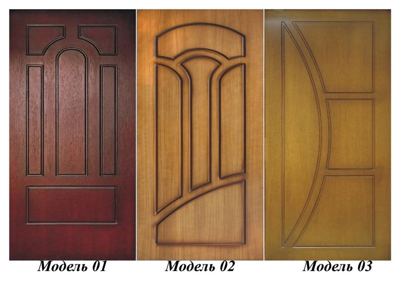 двери входные из натурального шпона